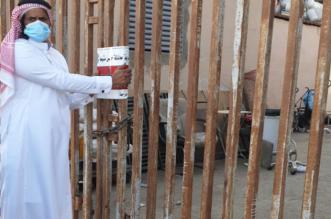 إغلاق 34 منشأة وإزالة بسطات عشوائية في خميس مشيط