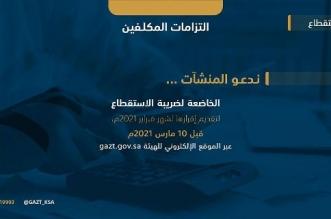 الزكاة والدخل تدعو إلى تقديم إقرارات ضريبة الاستقطاع عن فبراير - المواطن