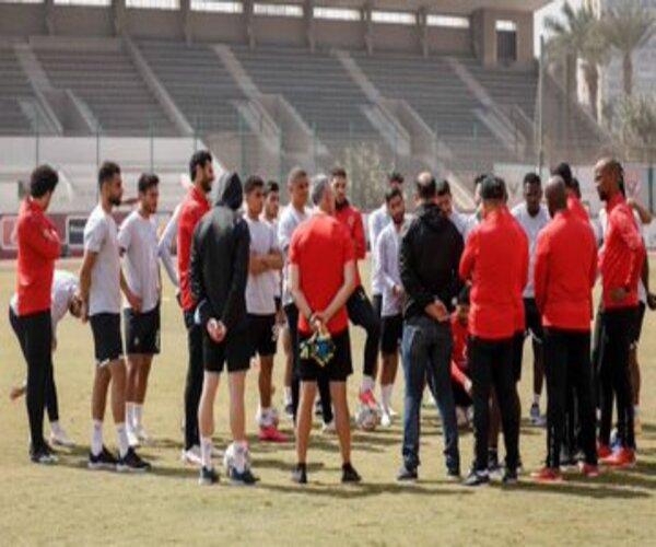 تدريبات الأهلي المصري