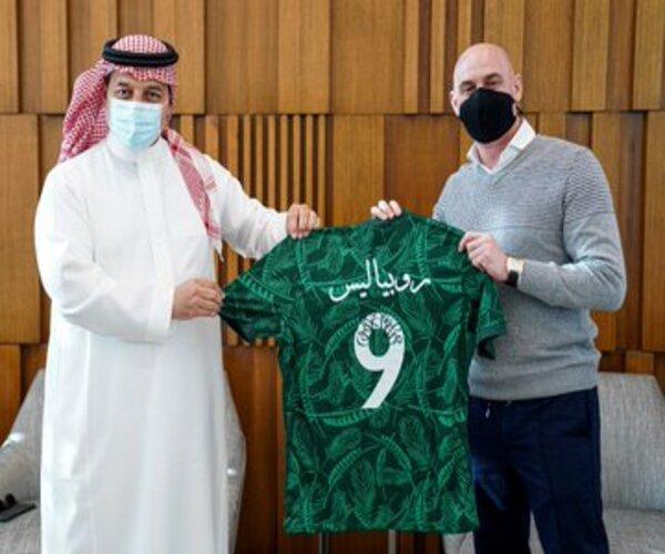 أمران اتفق عليهما المسحل مع رئيس اتحاد القدم الإسباني