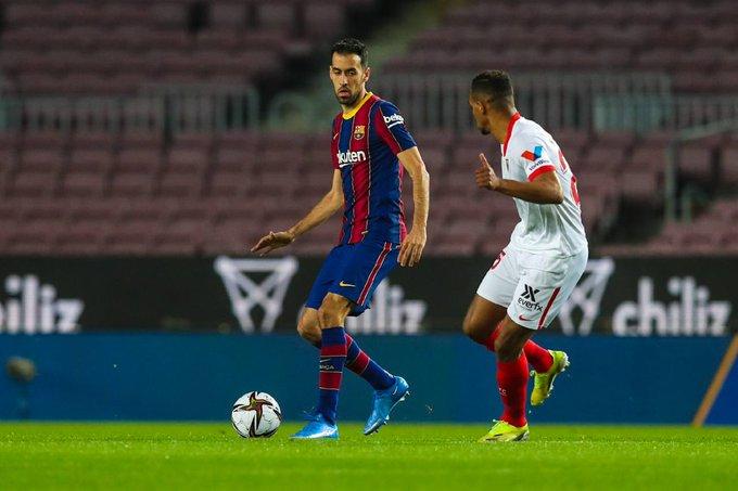 ريمونتادا خيالية تُنهي مباراة برشلونة وإشبيلية بثلاثية للبارشا