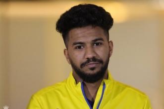 خالد الغنام لاعب النصر