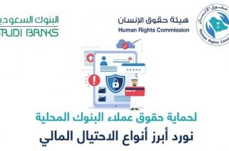 حقوق الإنسان لـ عملاء البنوك: احذروا رسائل الاحتيال المالي - المواطن