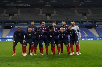 منتخب فرنسا قبل مباراة أوكرانيا