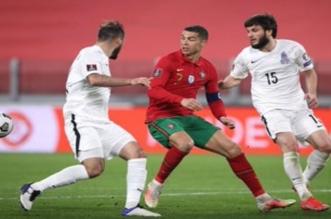 كريستيانو رونالدو - منتخب البرتغال وأذربيجان