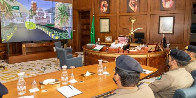 أمير عسير يطلق فعاليات اليوم العالمي للدفاع المدني