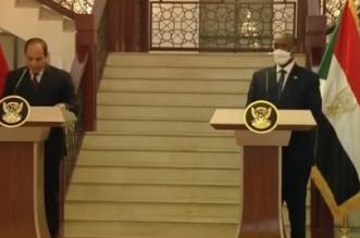 السيسي يدعم مقترحاً سودانياً بتشكيل لجنة رباعية لحل أزمة سد النهضة - المواطن