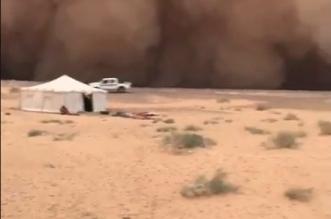 إمارة الشمالية تكشف حقيقة مقطع العاصفة الغبارية بعرعر - المواطن
