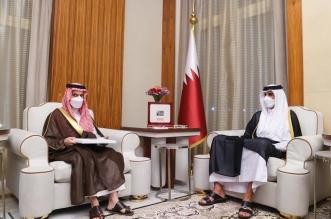 أمير قطر يستقبل وزير الخارجية ويبحث معه العلاقات الثنائية