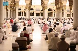 أول جمعة في رمضان المسجد النبوي