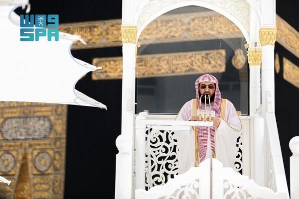خطيب المسجد الحرام: تأملوا بمحاسن الإسلام يزيد إيمانكم