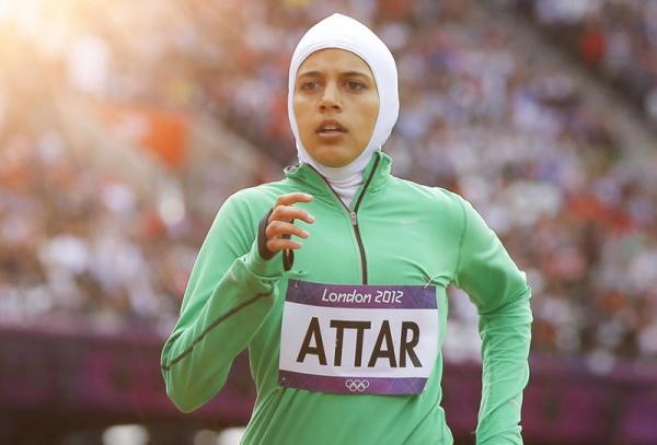 اختيار سارة عطار ضمن رياضيات غيرن صورة المرأة العربية الأمريكية (2)