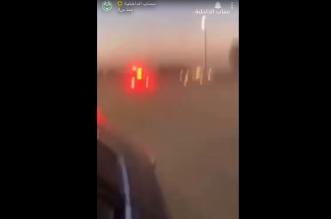 القبض على مفحط في القصيم صدم دورية شرطة وهرب - المواطن