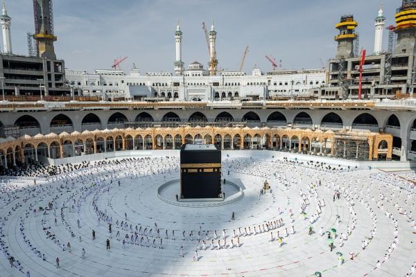 التوسعة السعودية الثالثة في المسجد الحرام جاهزة لاستقبال المصلين