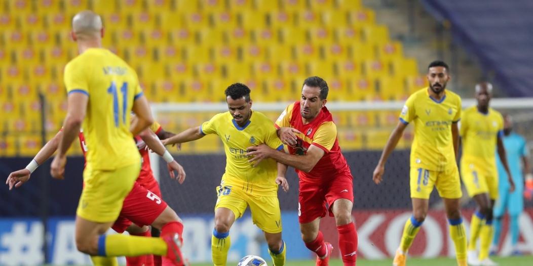 نتائج النصر أمام الفرق الإيرانية