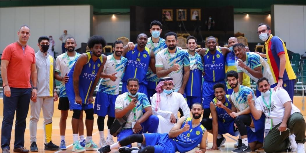 النصر بطلًا للدوري السعودي لكرة السلة