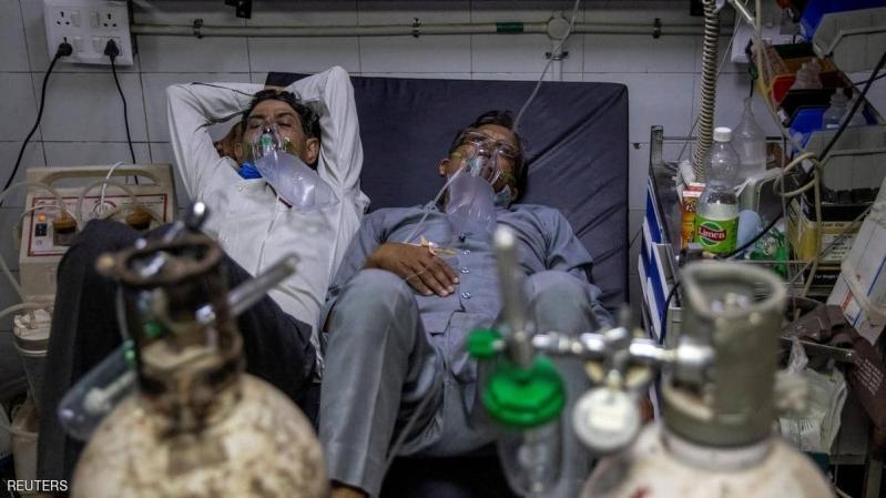 انتشار صاروخي لفيروس كورونا في الهند