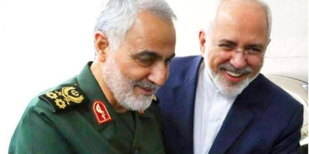 وزير خارجية إيران ينتقد نفوذ سليماني في مقابلة مسربة