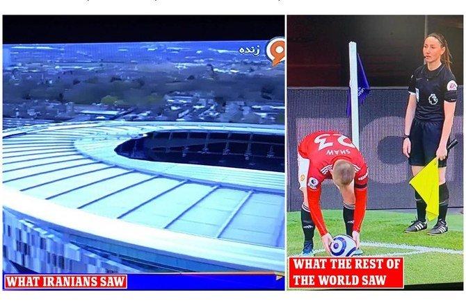 تليفزيون إيران يقطع مباراة إنجليزية 100 مرة بسبب التحكيم النسائي ! (1)
