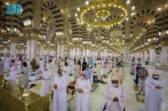 رئاسة المسجد النبوي ترفع كامل الاستعدادات لأداء صلاة عيد الفطر - المواطن