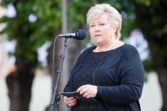 رئيسة وزراء النرويج