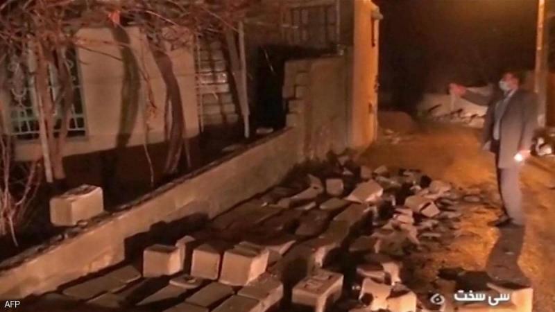 زلزال بقوة 5.9 درجة يضرب إيران