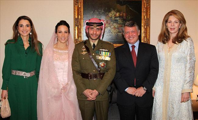 زوجة الأمير حمزة بن الحسين 2