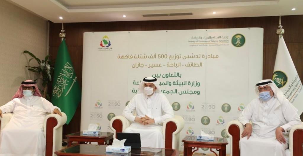 الجمعيات التعاونية تنفذ مبادرة توزيع 500 ألف شتلة في 4 مدن