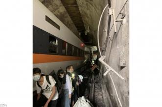 فيديو.. حادث قطار مروع في تايوان يودي بحياة العشرات