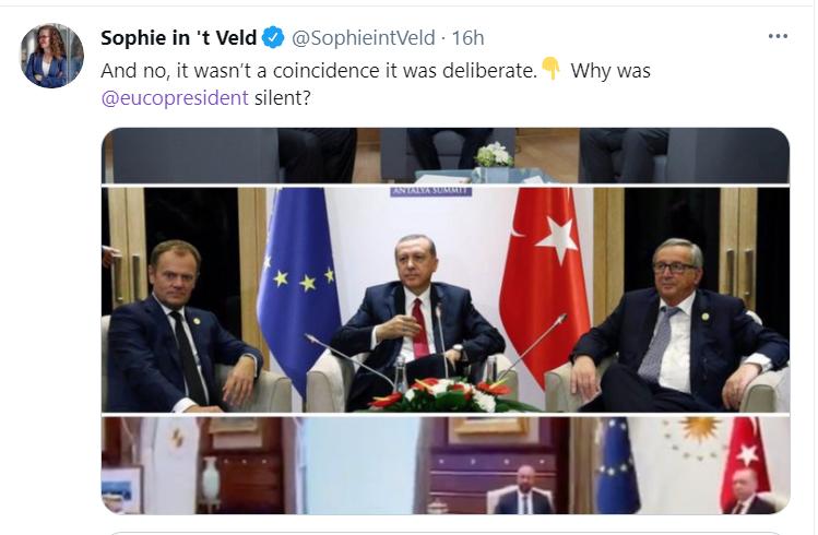 فيديو.. رئيسة المفوضية الأوروبية تتعرض لموقف محرج ! (2)