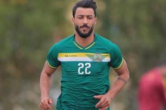 لاعب الشرطة العراقي حسام كاظم