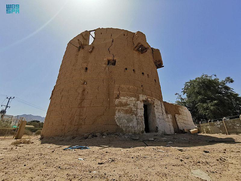 مبنى إمارة نجران القديم يروي قصة كفاح الملك المؤسس - المواطن