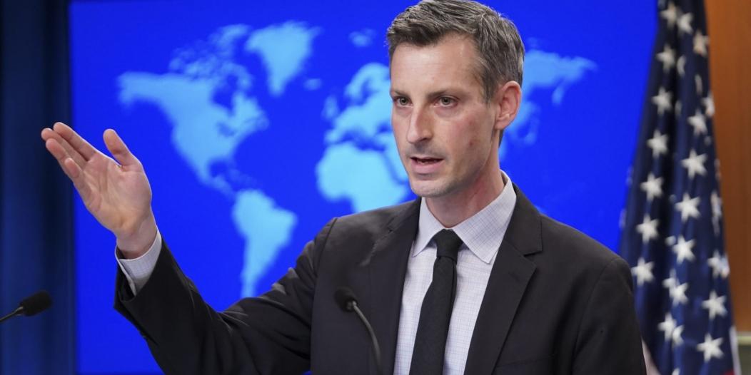 الخارجية الأمريكية : على إيران وقف تهديداتها الباليستية والعقوبات مستمرة
