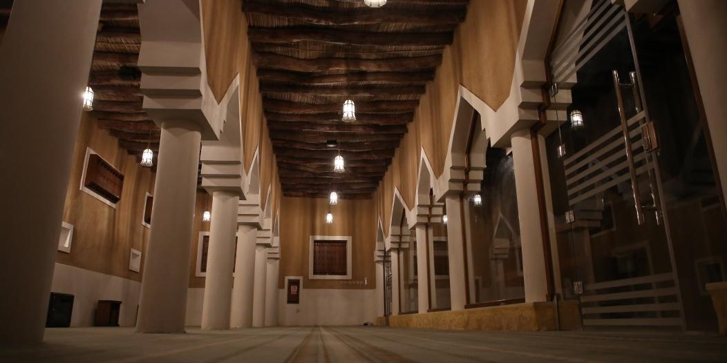 مسجد قصر الشريعة أحد المعالم التاريخية في الرياض