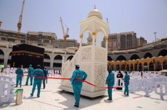 منظومة خدمية متكاملة لصلاة آخر جمعة في المسجد الحرام قبل شهر رمضان - المواطن