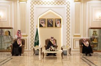 نائب أمير مكة يستقبل السديس وعدداً من أئمة ومؤذني المسجد الحرام - المواطن