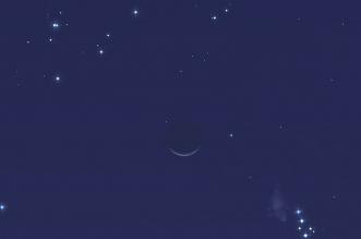 هلال رمضان يقع بين عنقودي الثريا والقلائص الليلة - المواطن