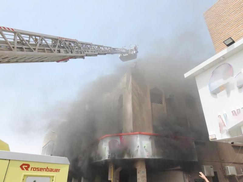 وفاة و5 إصابات في حريق محل تجاري بالرياض - المواطن