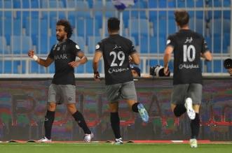 ياسر الشهراني في مباراة الهلال والرائد