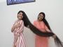 صاحبة أطول شعر بالعالم