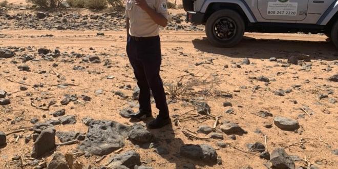 ضبط مخالف نهل الرمال واقتلع الأشجار في أم الدوم بالطائف - المواطن