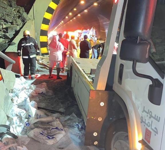 وفاة و6 إصابات في حادث أسفل عقبة شعار بعسير
