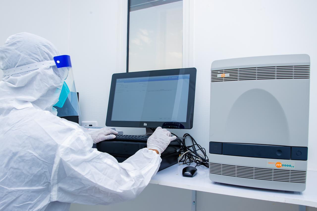 افتتاح مختبر فحص كورونا في حفر الباطن