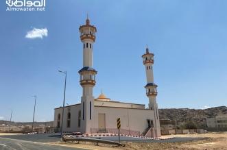 جامع عثمان بن عفان بجوف آل الشواط شرق أحدرفيدة