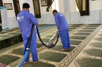 إدارة مساجد حفر الباطن تُكمل استعدادها لاستقبال شهر رمضان
