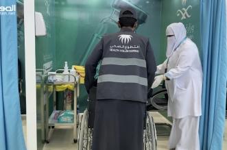 250 متطوع صحي في مراكز لقاحات كورونا بحفر الباطن