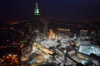120 ألف وحدة إنارة تشع بأضوائها في أرجاء المسجد الحرام - المواطن