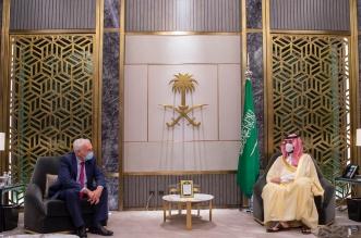 ولي العهد يلتقي مبعوث رئيس وزراء بريطانيا لمنطقة الخليج - المواطن