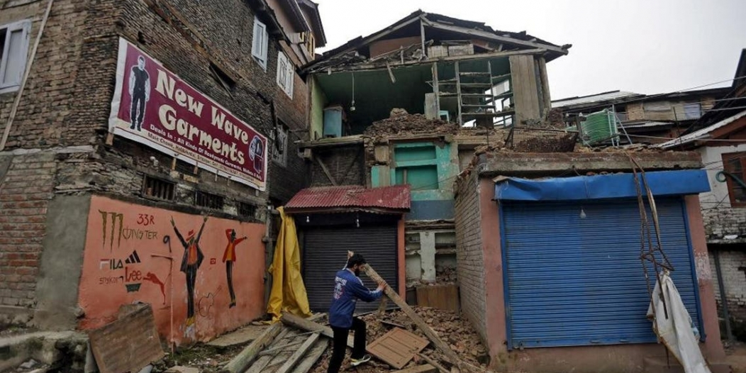 زلزال عنيف بقوة 6.2 يضرب مقاطعة آسام في الهند