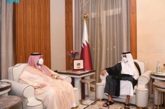أمير قطر يستقبل الأمير تركي بن محمد بن فهد - المواطن